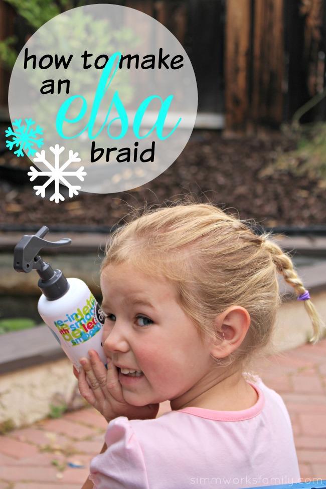 How to Make An Elsa Braid - A Simple DIY Tutorial