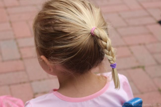 How to Make An Elsa Braid - quick and simple hair design
