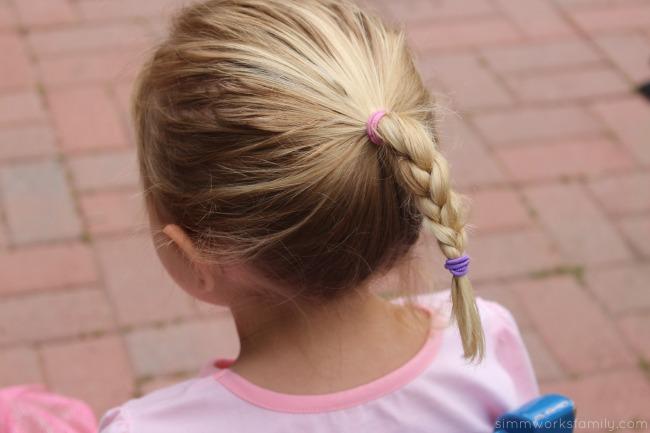 How to Make An Elsa Braid - quick and simple hair design