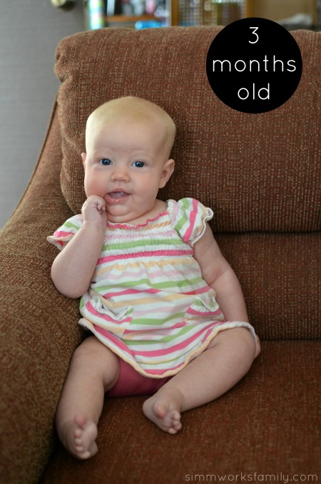 Norah 3 Months Old