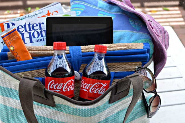 On-The-Go Summer Beach Bag Essentials - share a Coke