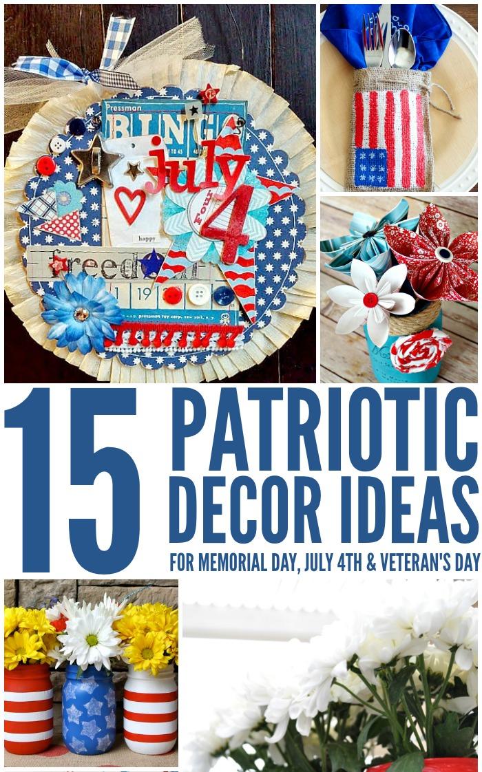 Patriotic Decor Ideas for Summer