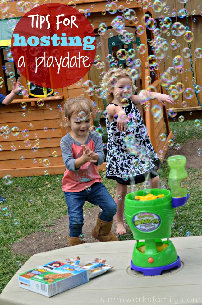 Tips for Hosting A Playdate