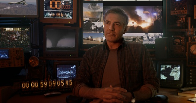 Disney's TOMORROWLAND Frank (George Clooney) ©Disney 2015