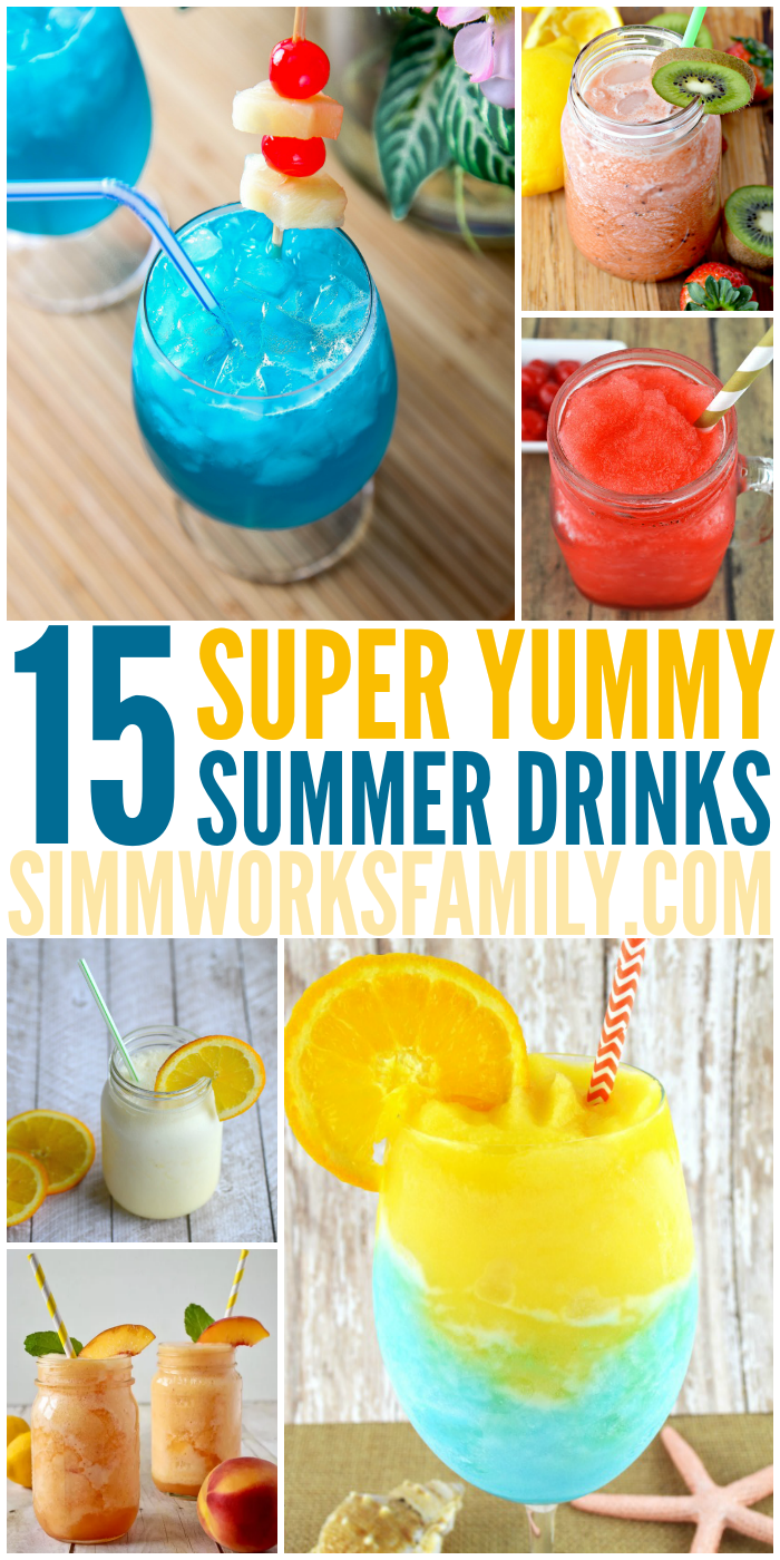 15 Summer Drinks to Help Cool You Down
