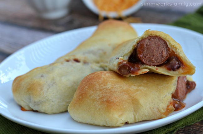 Chili Cheese Crescent Dogs - simple and easy