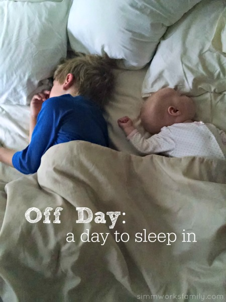 Days of the week - off day