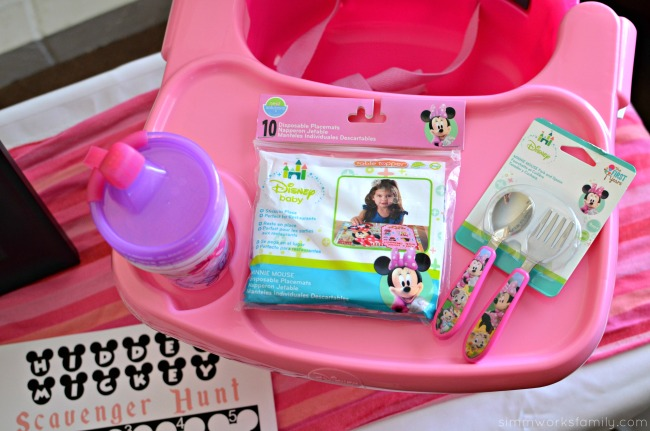 Disney Baby Shower Games - memory game