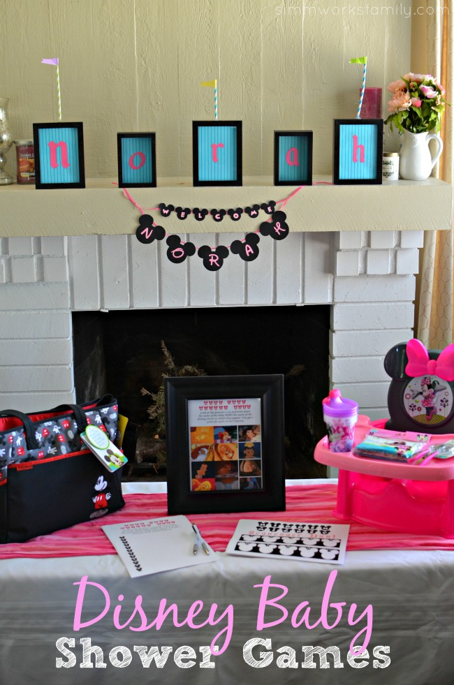 Disney Baby Shower Games