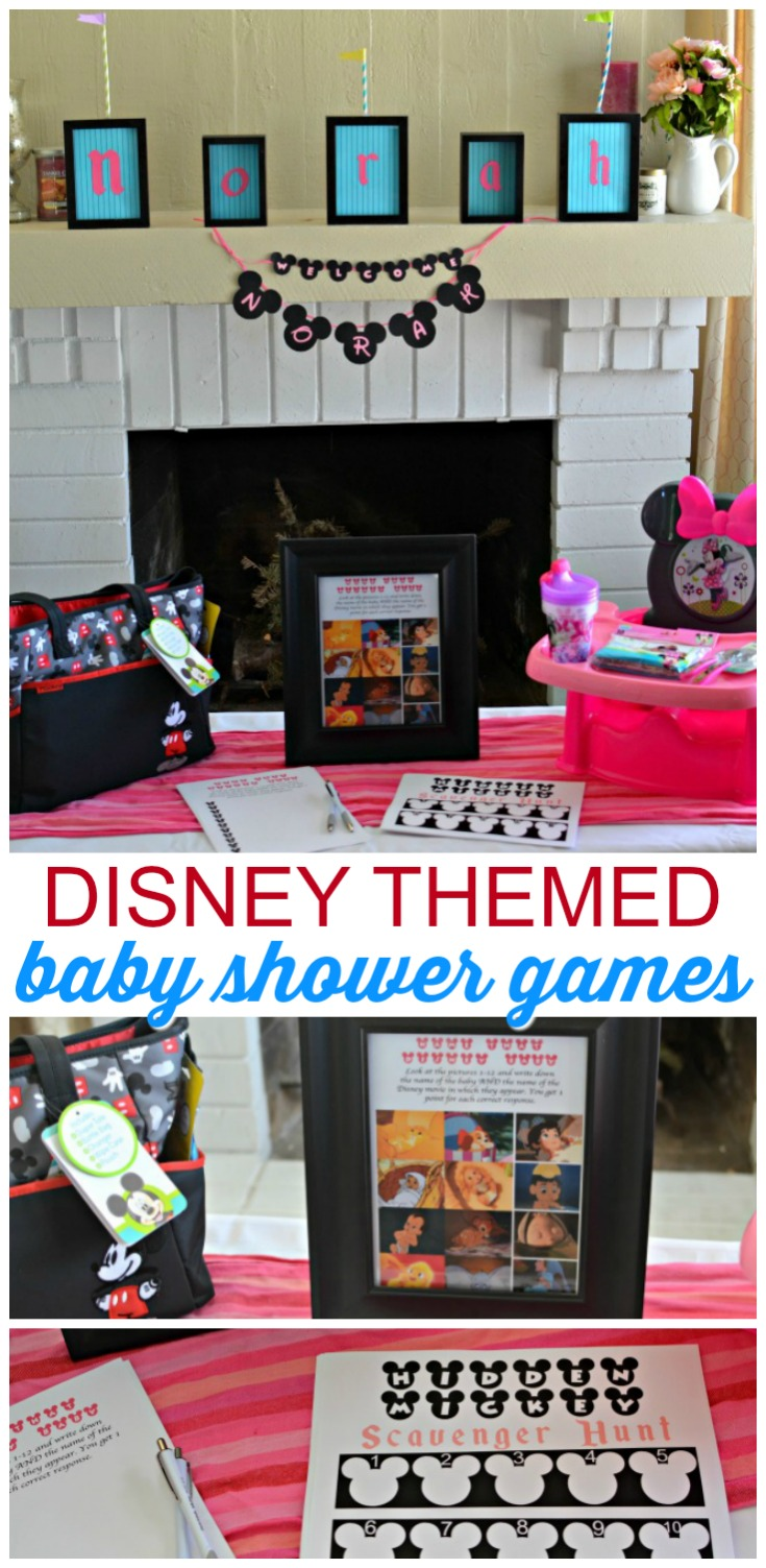 From 'Name that Disney Baby' to 'Find the Hidden Mickeys,' we're sharing fun games you can play at your next Disney-themed baby shower!