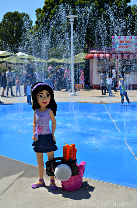 Legoland Heartlake City splash pad