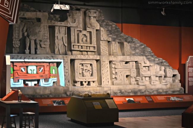Maya exhibit at theNAT