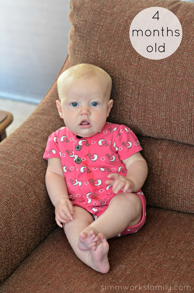 Norah 4 Months Old