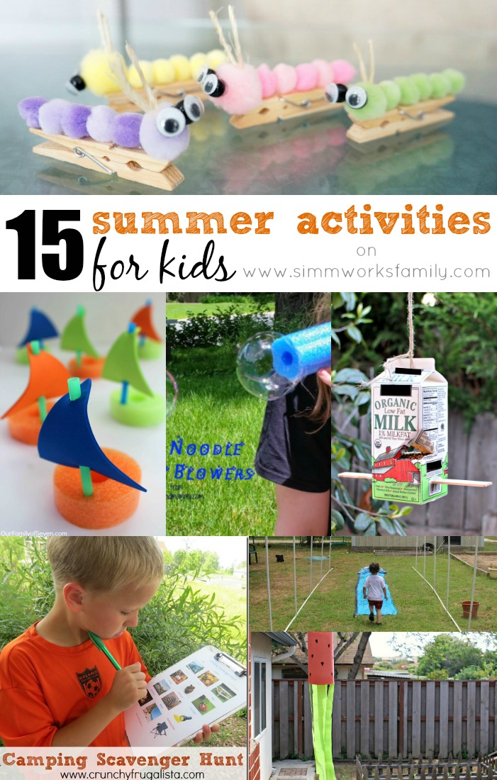 Summer Activities for Kids To Do