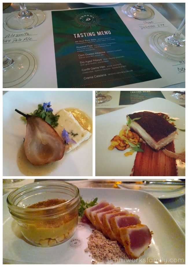 Vessel Restaurant Summer tasting menu