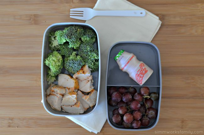 Easy Lunch Ideas for Busy Moms - chicken and broccoli
