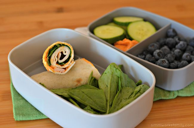 Easy Lunch Ideas for Busy Moms - turkey wrap