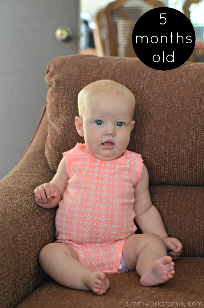 Norah 5 Months Old