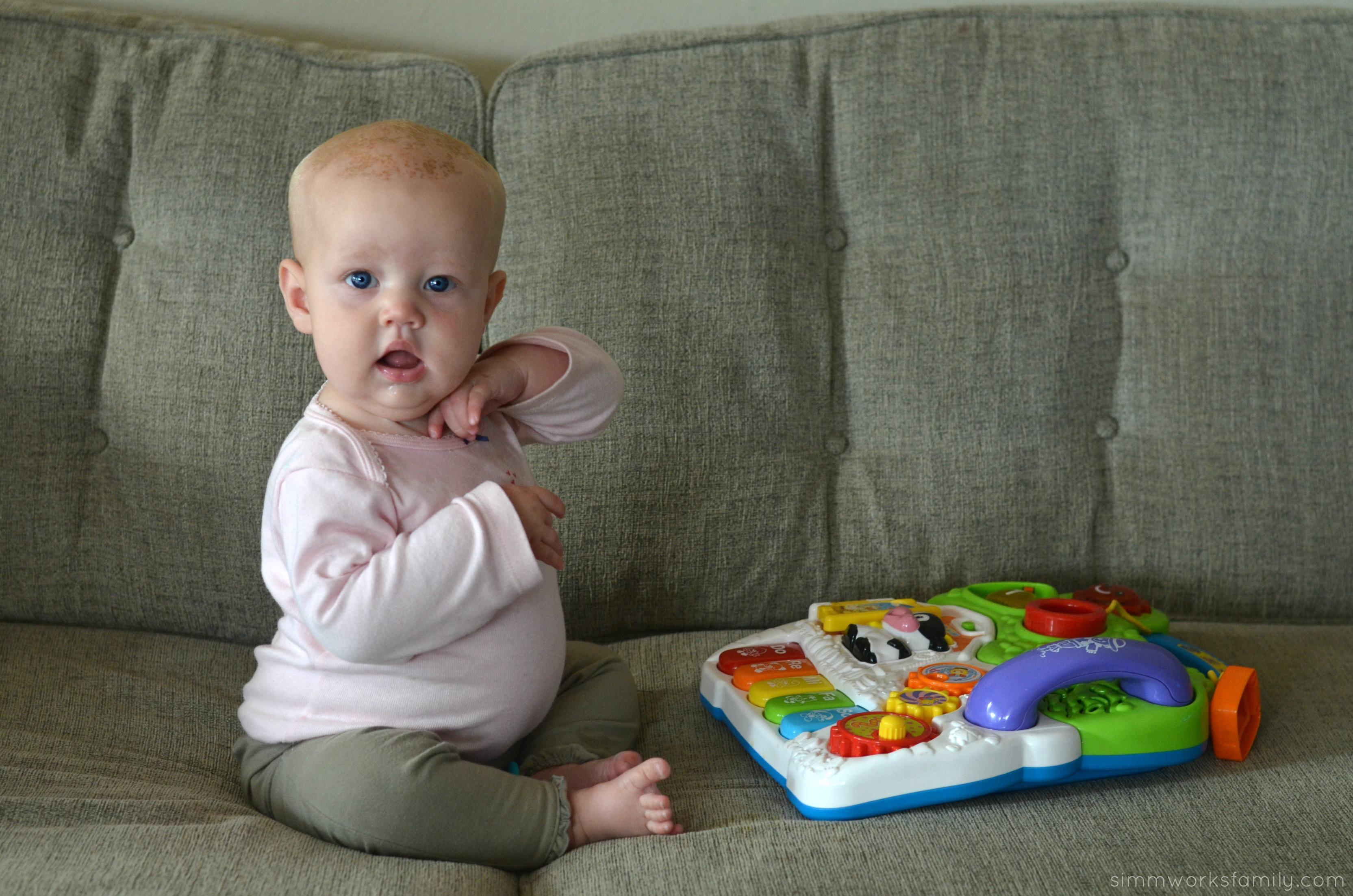 Dear N 5 Months Old A Crafty Spoonful