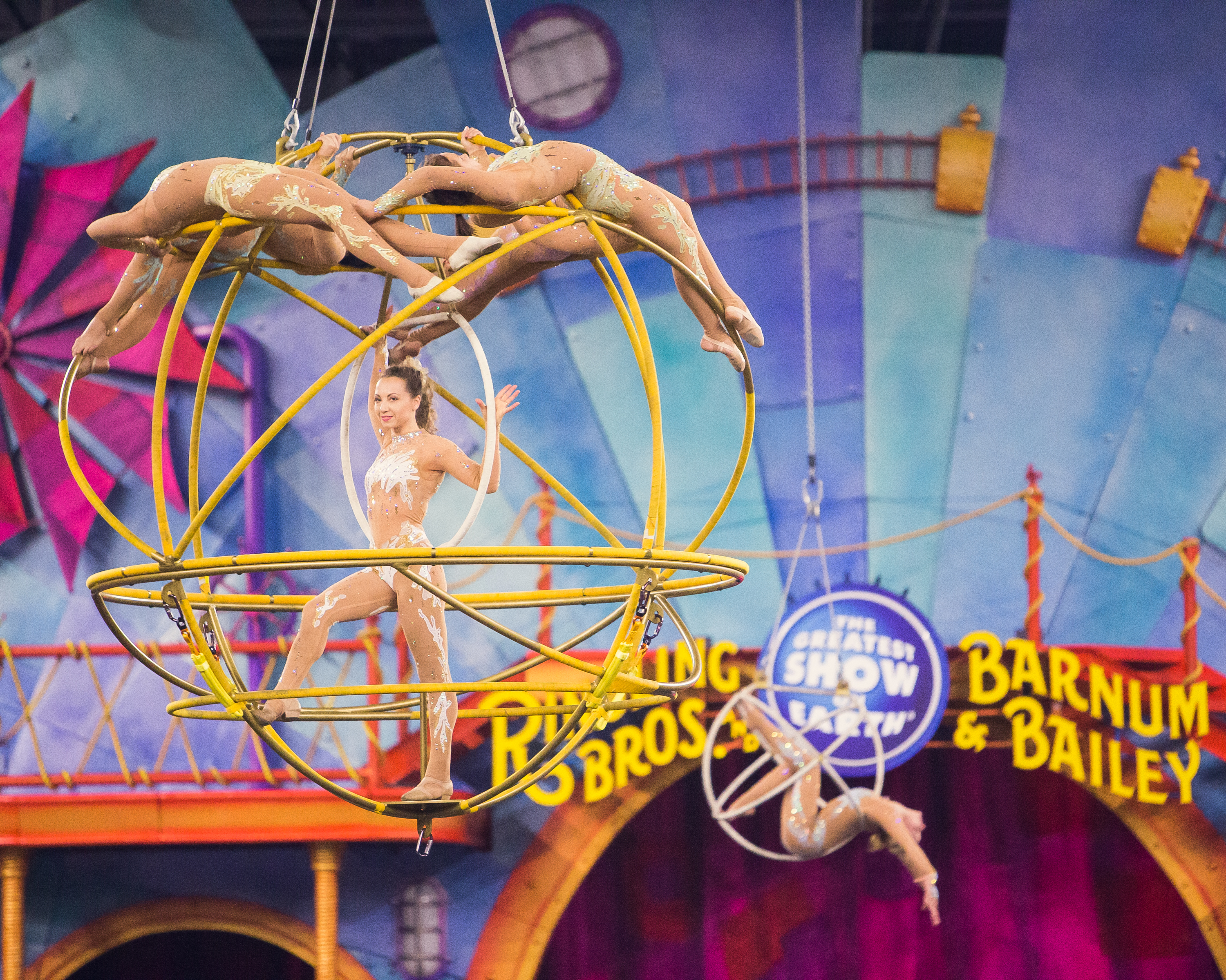 Ringling Bros Circus Xtreme aerial artists
