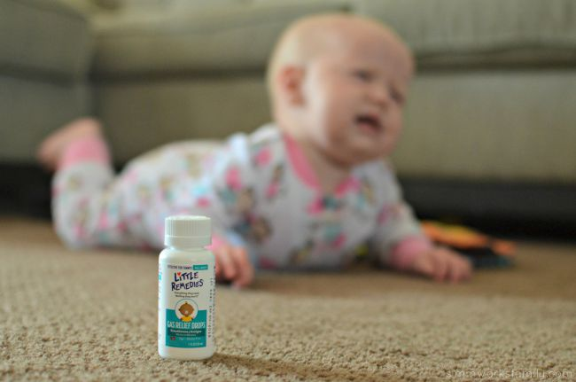 Tips for a Gassy Baby - quick, natural relief