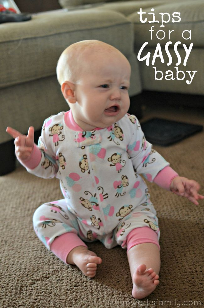 Tips for a Gassy Baby