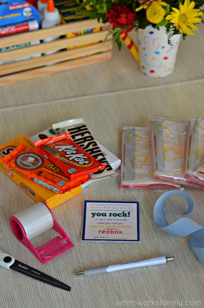 Back to School Teacher Appreciation Gifts + a Tutorial - materials
