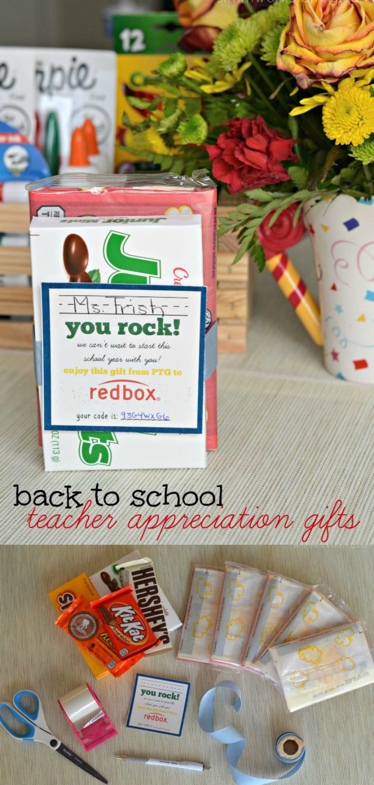 It's the start of a new school year and to show our teachers some back to school love, we've created this simple back to school teacher appreciation gift! Best part? It's easy AND inexpensive!