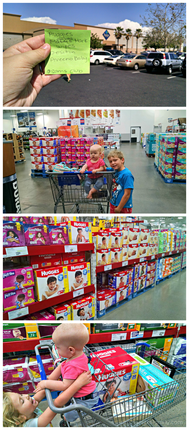 Sam's Club Essentials for Mom
