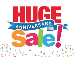 Vons Huge Anniversary Sale