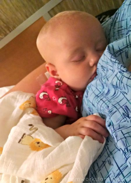 That Time I Thought I Was Going To Die - napping baby in the ER