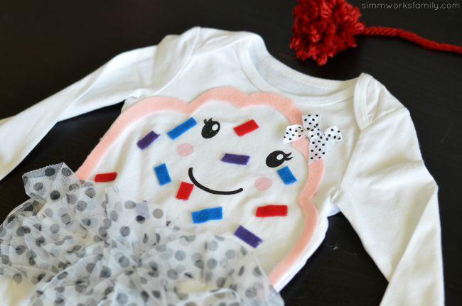 DIY Infant Cupcake Costume details