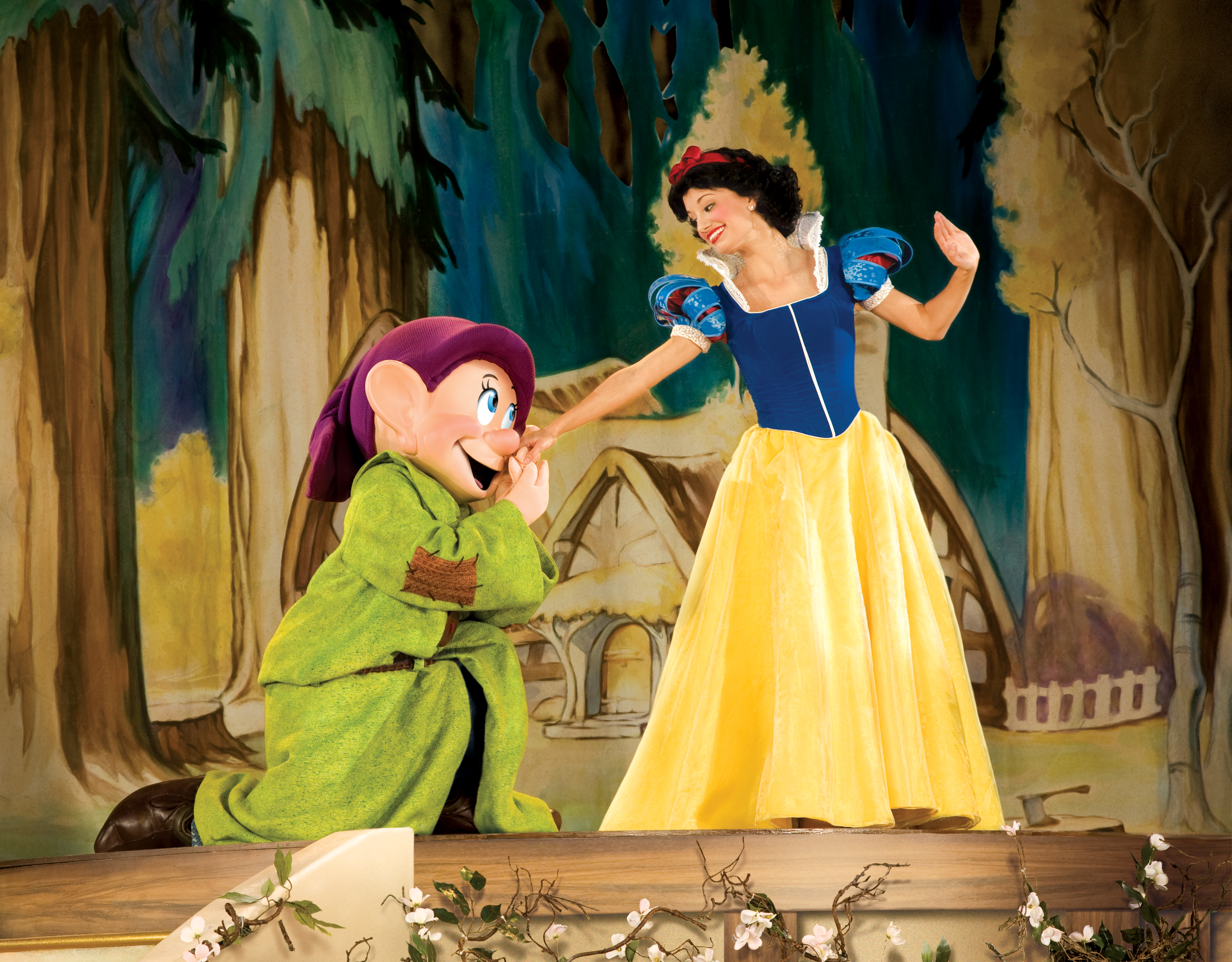 Disney Live! Three Classic Fairytales Snow White