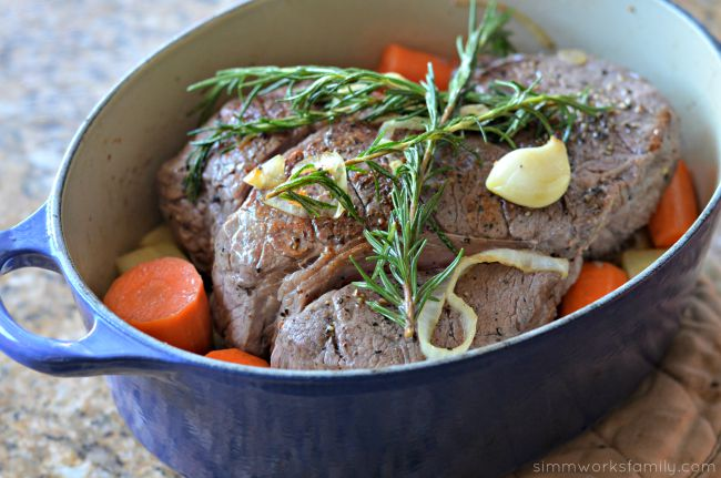 Easy One-Pot Pot Roast