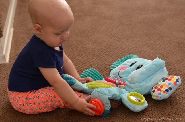 Keeping Baby Entertained On The Go - Fold N Go Elephant