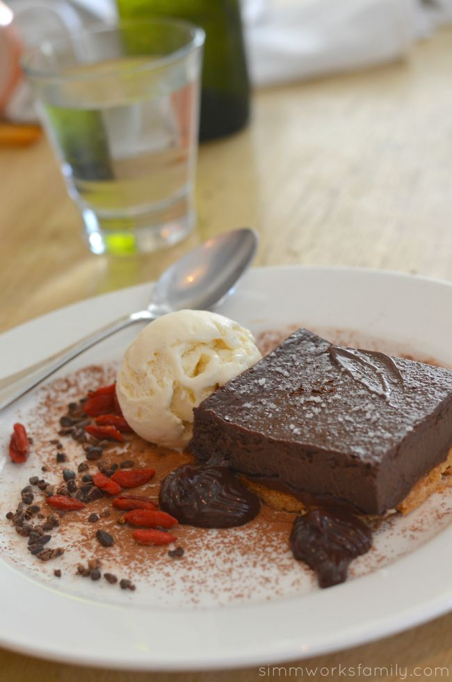 The Hake Restaurant and Bar - Chocolate Hazelnut Cake