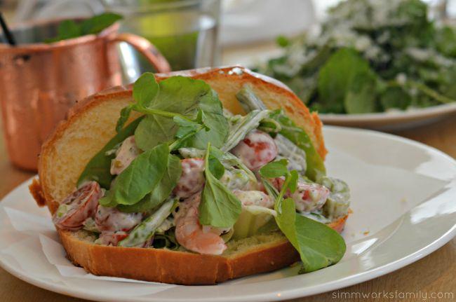 The Hake Restaurant and Bar - Shrimp Roll