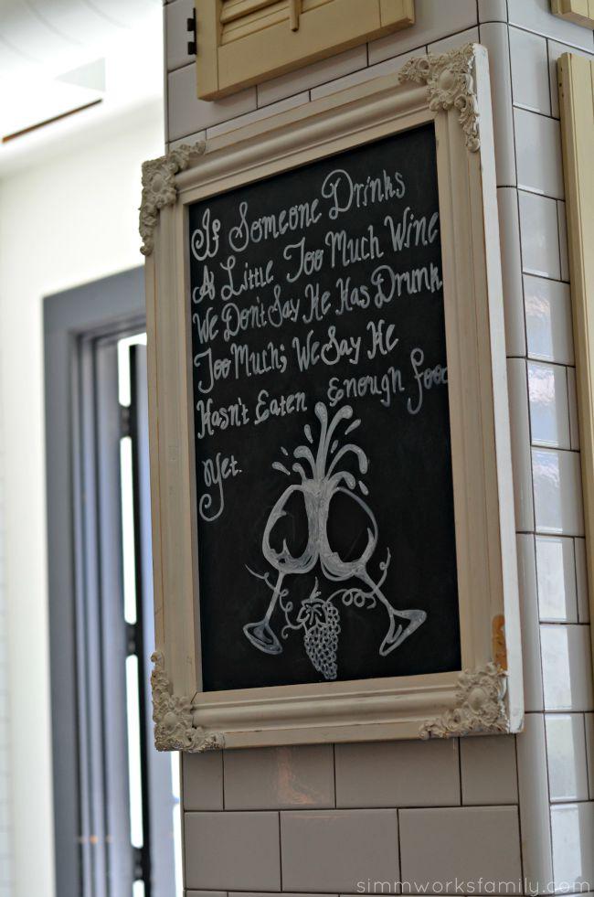 The Hake Restaurant - drink wine!