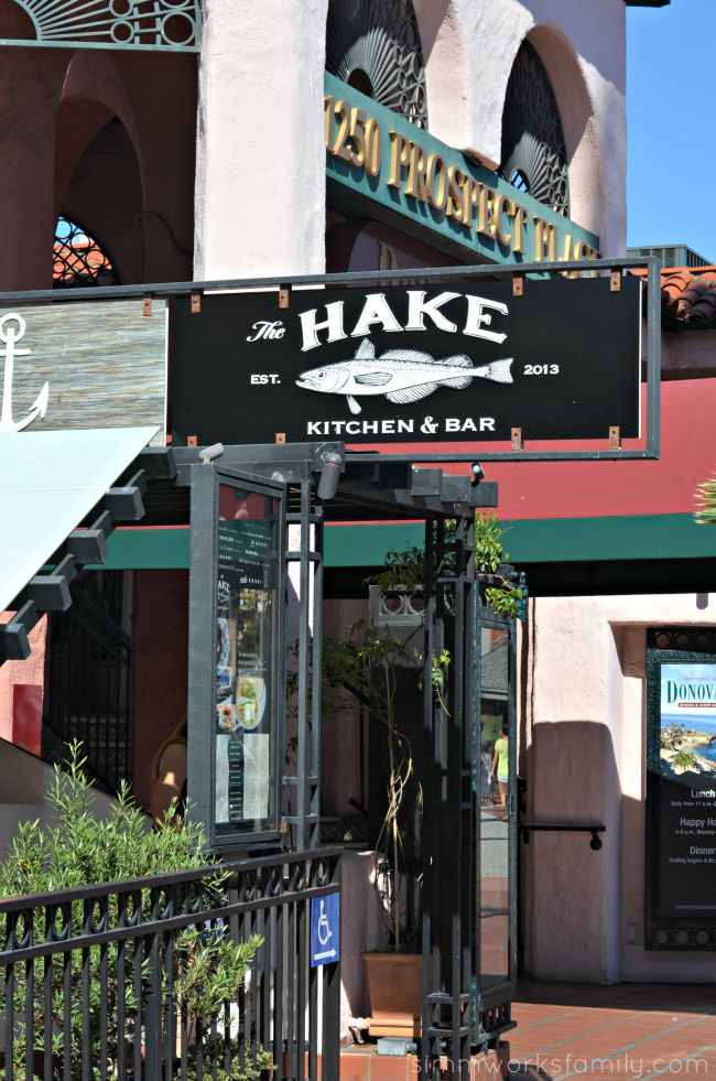 The Hake Restaurant in La Jolla
