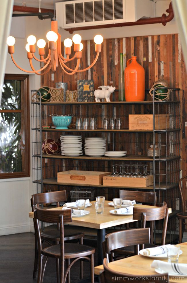 The Hake Restaurant - tables and decor