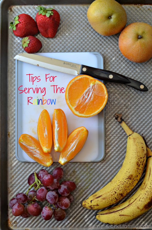 Tips For Serving The Rainbow Healthy Breakfast Options For Picky Eaters