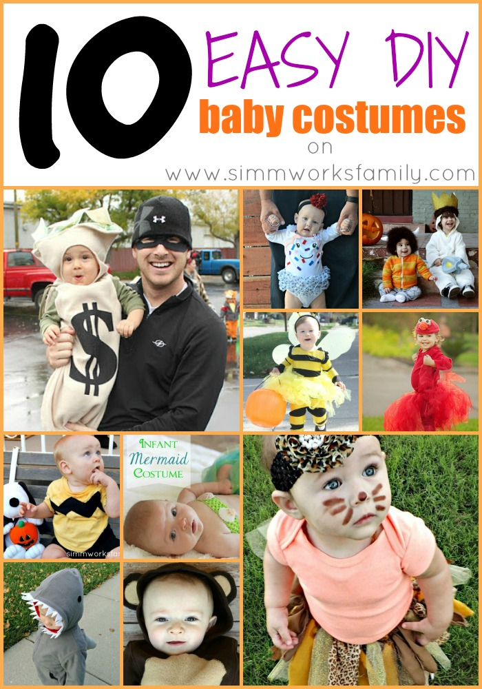 10 Easy DIY Baby Costumes
