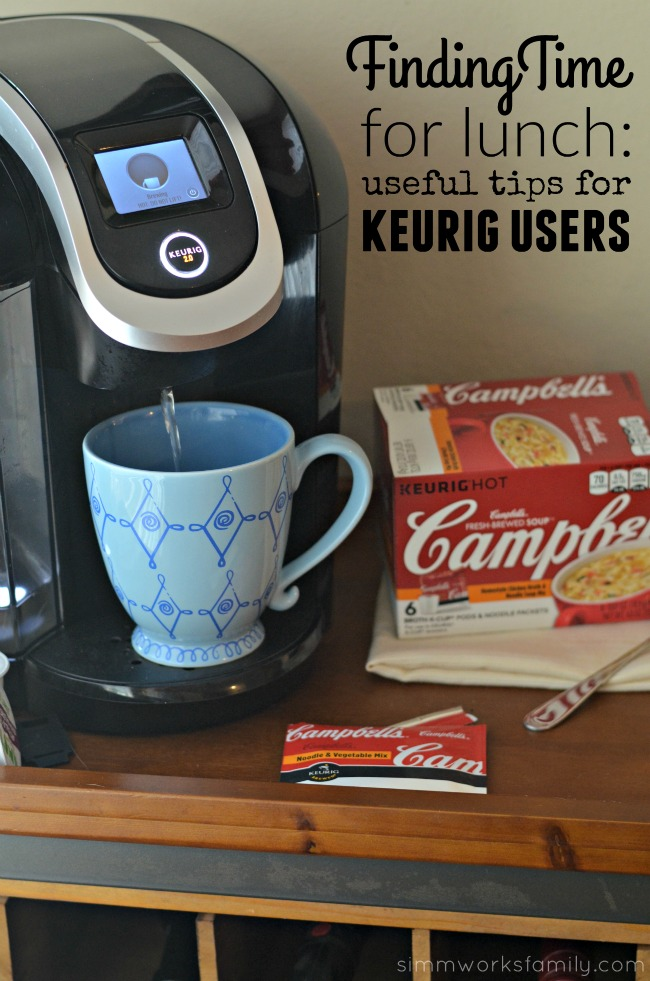 Finding Time For Lunch Useful Tips for Keurig Users