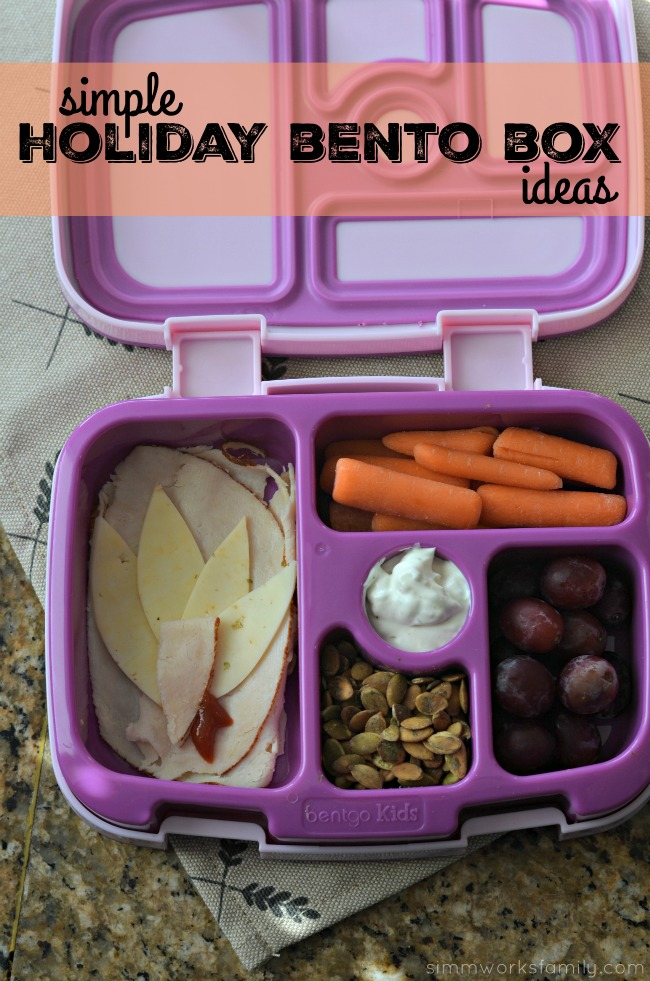Simple Holiday Bento Box Ideas