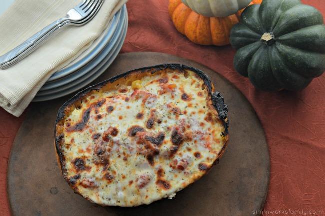 Spaghetti Squash Chicken Lasagna with Foster Farms