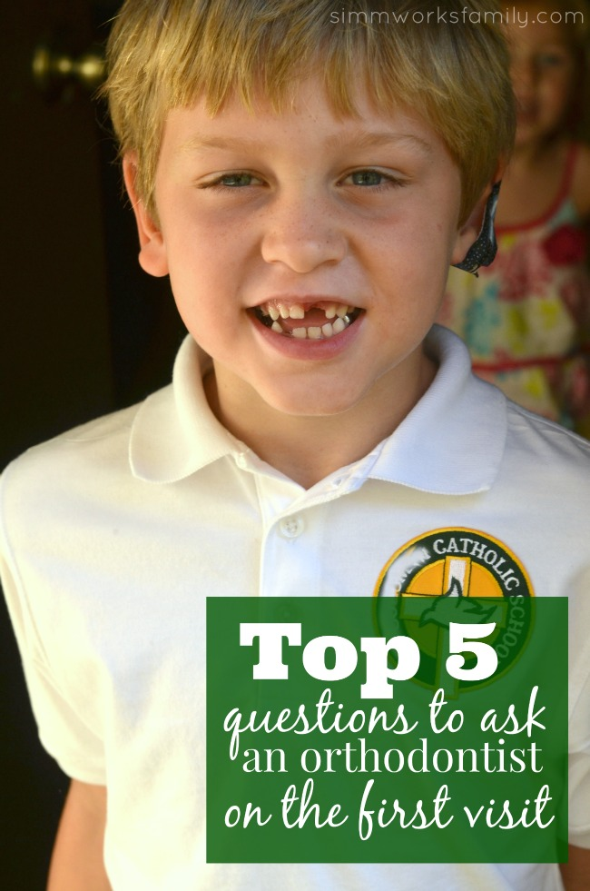 Top 5 Questions To Ask the Orthodontist on the First Visit