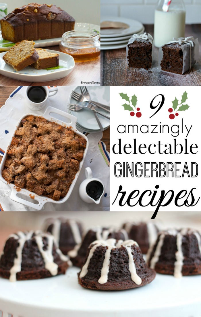 9 Amazingly Delectable Gingerbread Recipes