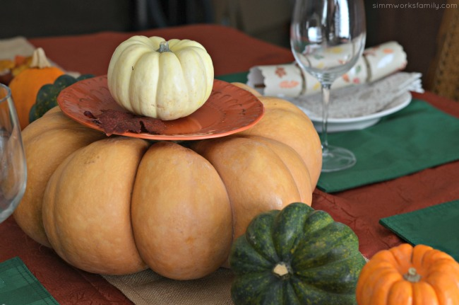 Creating The Perfect Thanksgiving Tablescape - centerpiece