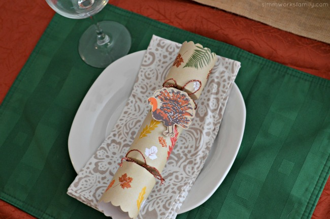 Creating The Perfect Thanksgiving Tablescape - place settings