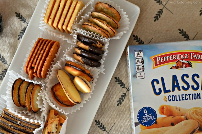 Entertaining during the holidays with pepperidge farm
